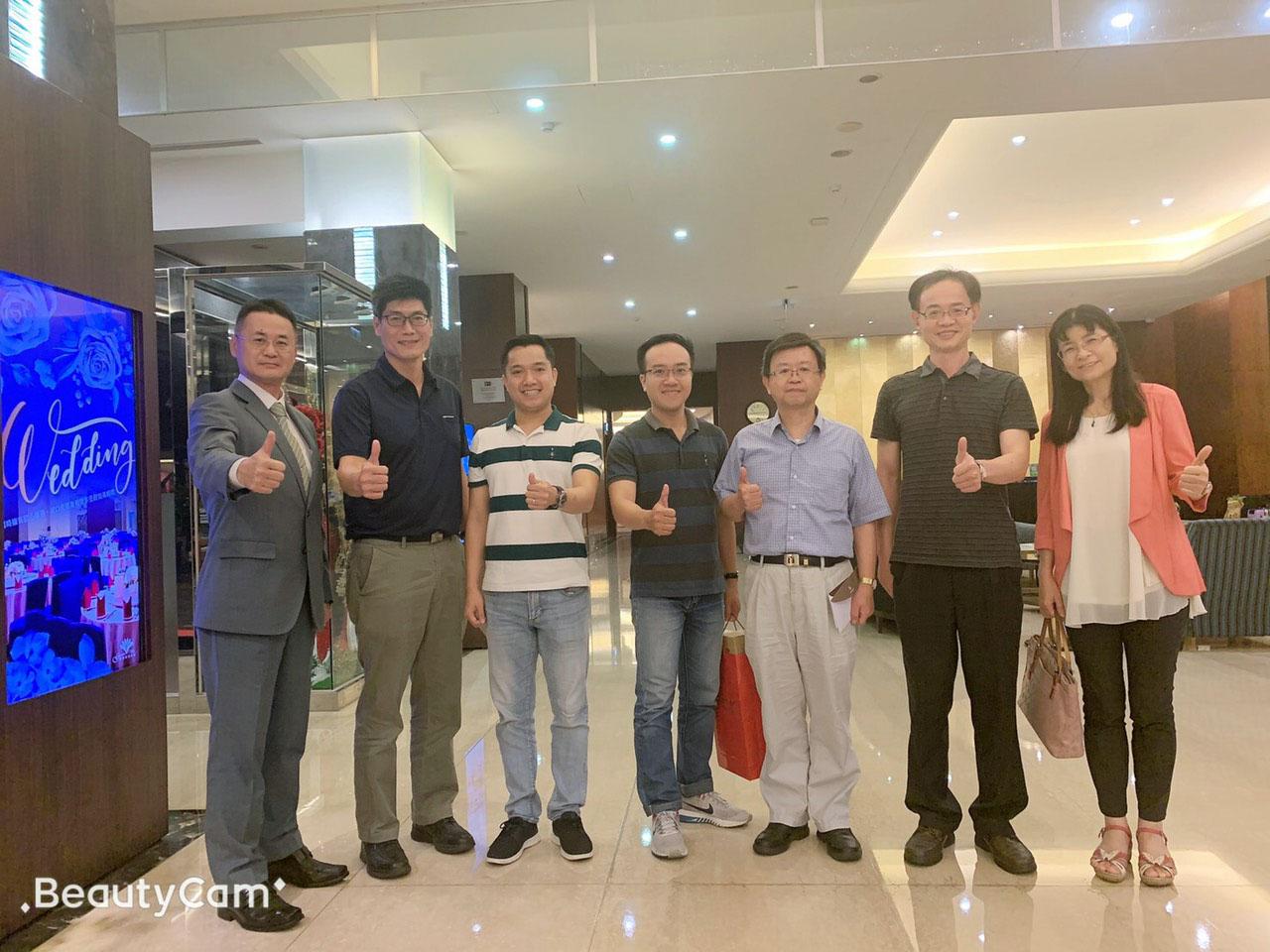 OHA Taiwan và Ban lãnh đạo trường NKUST