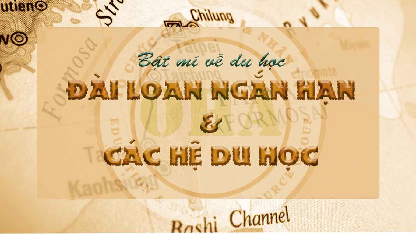 Thông tin về du học đài loan ngắn hạn