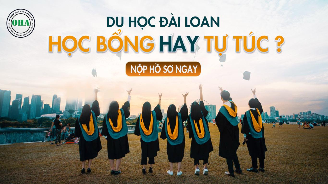 Du học Đài Loan học bổng hay tự túc