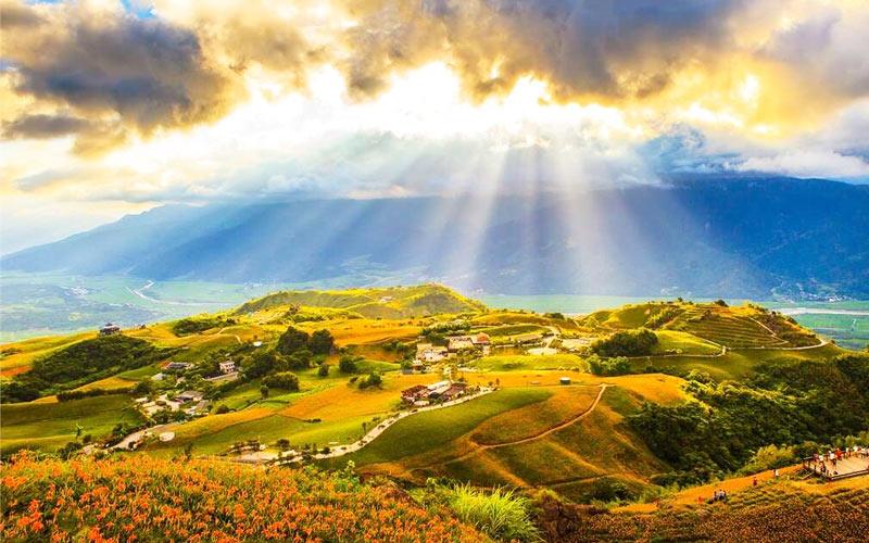 Du lịch Đài Loan nên đi đâu? Không thể bỏ qua khu thắng cảnh quốc gia thung lũng khe nứt miền Đông Đài Loan