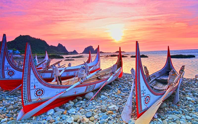 Khi du lịch Đài Loan, du khách không thể chối từ sức hấp dẫn của hòn đảo Lan nguyên sơ