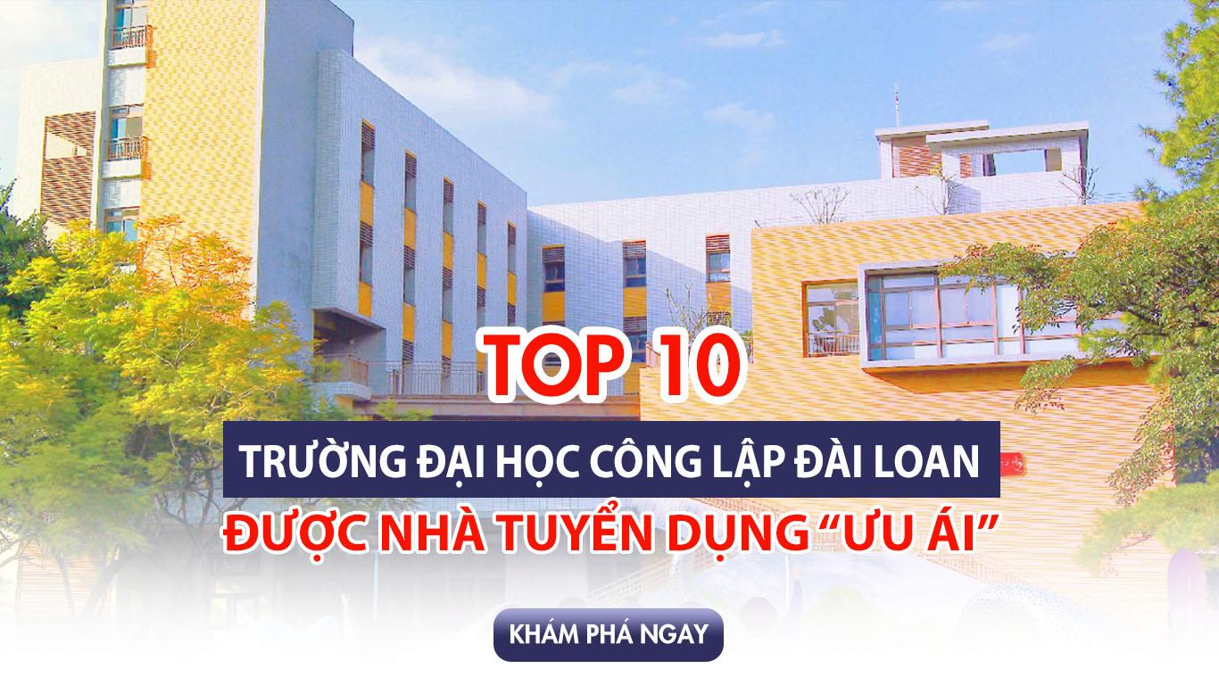 Oha Taiwan thông tin đến bạn top 10 trường Đại học uy tín khi du học Đài Loan