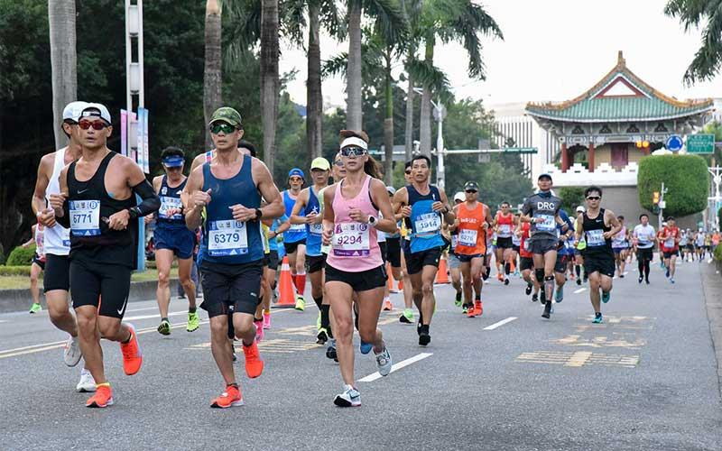 Giải chạy Marathon lớn nhất Đài Bắc