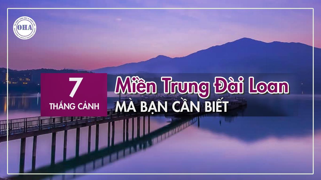 Say mê quên lối về với hồ Nhật Nguyệt - Du lịch Đài Loan