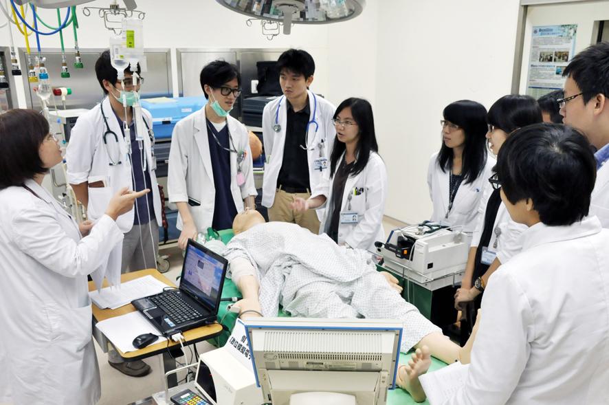 Sinh viên ngành Y Dược Đài Loan