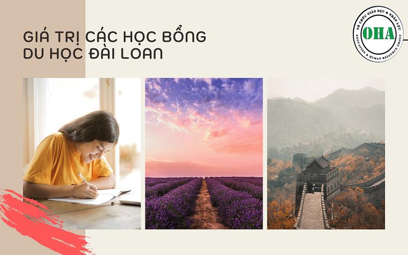 Giá trị các học bổng du học Đài Loan
