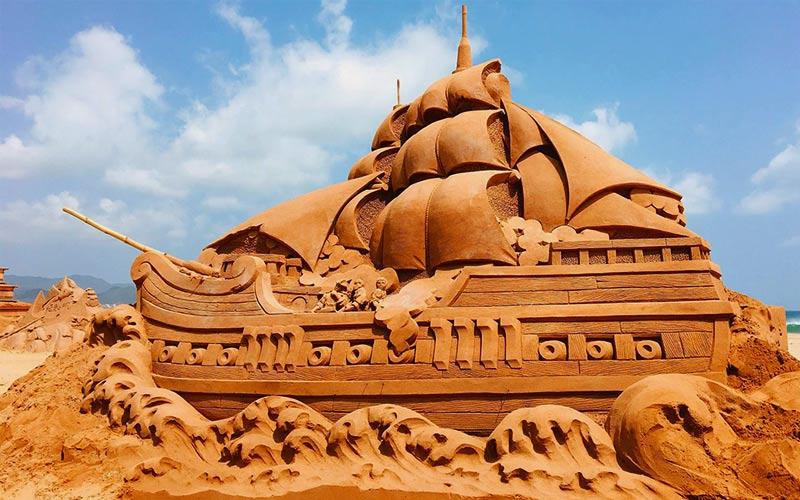 Địa điểm du lịch Đài Loan mùa hè với lễ hội Khắc cát Phúc Long