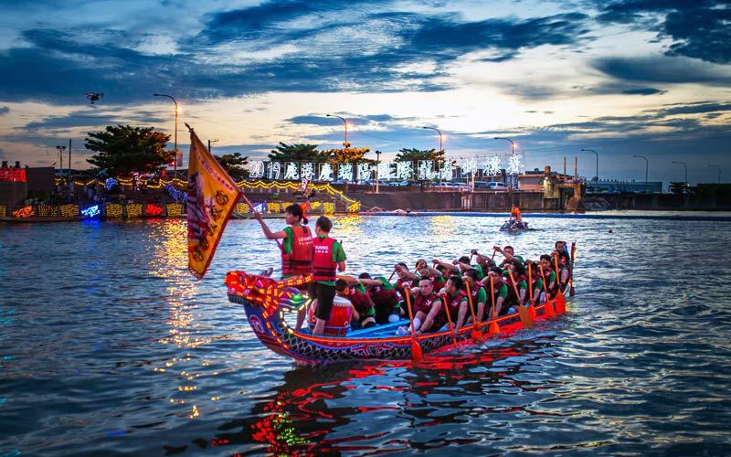 Du lịch Đài Loan tháng 5 với lễ hội đua thuyền rồng Lộc Cảng