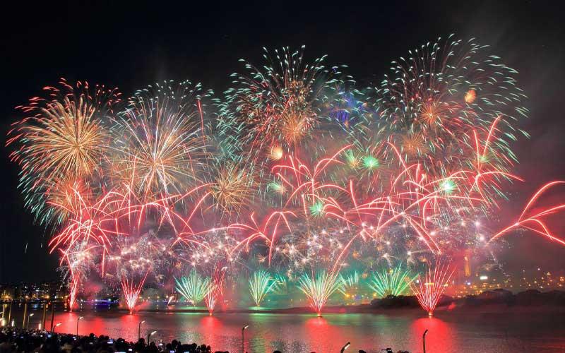 Du lịch Đài Loan dịp Tết với lễ hội pháo hoa hồ Nhật Nguyệt
