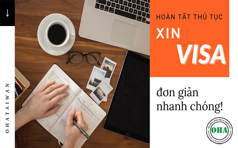 Thủ tục xin VISA du học Đài Loan cần gì?