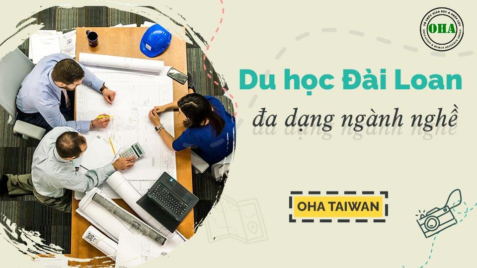 Du học Đài Loan đa dạng ngành nghề