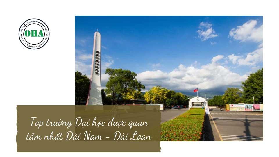 Du học Đài Loan Đại học - Top trường Đại học được quan tâm nhất Đài Nam