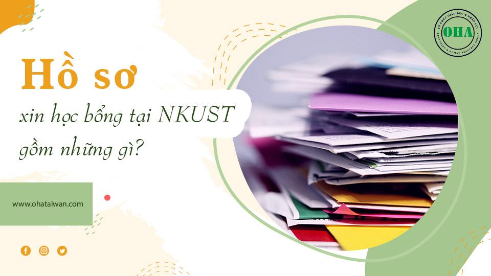 Yêu cầu về hồ sơ xin học bổng Đài Loan Đại học tại NKUST