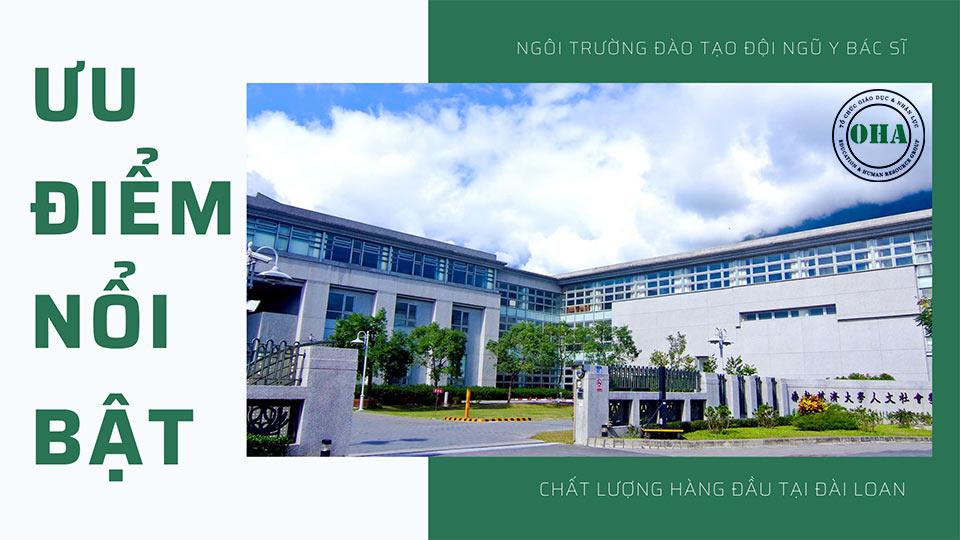 Những ưu điểm nổi bật của trường đại học Từ Tế khi du học Đài Loan