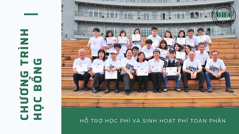 Chính sách học bổng hấp dẫn dành cho sinh viên du học Đài Loan