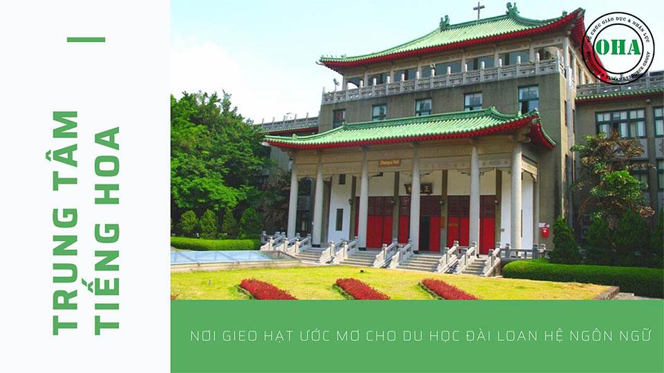 Trung tâm tiếng Hoa của trường Đại học Ngoại ngữ Văn Tảo