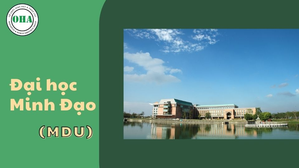 Du học Đài Loan ngành Logistics tại Đại học Minh Đạo (MDU)