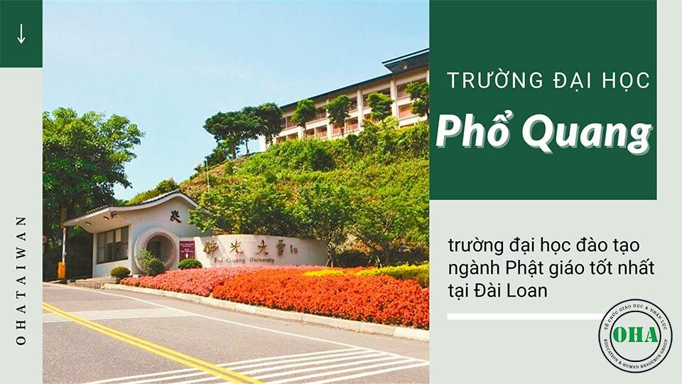 Du học Phật giáo tại Đài Loan với Đại học Phổ Quang