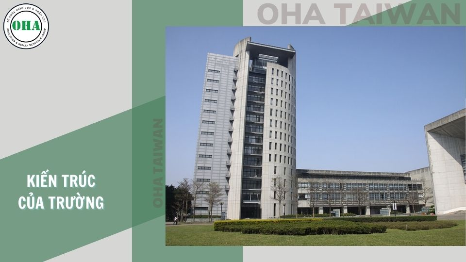 Đại học Nguyên Trí được xây dựng trên nền kiến trúc hiện đại