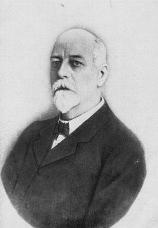 Tiến sĩ DL Anderson, hiệu trưởng đầu tiên của trường