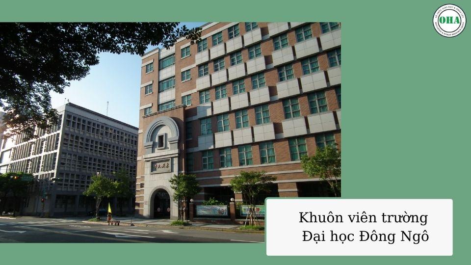 Đại học Đông Ngô ngôi trường hàng đầu dành cho sinh viên du học Đài Loan