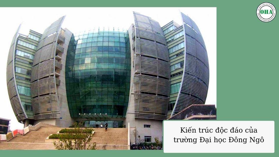 Kiến trúc độc đáo của trường Đại học Đông Ngô