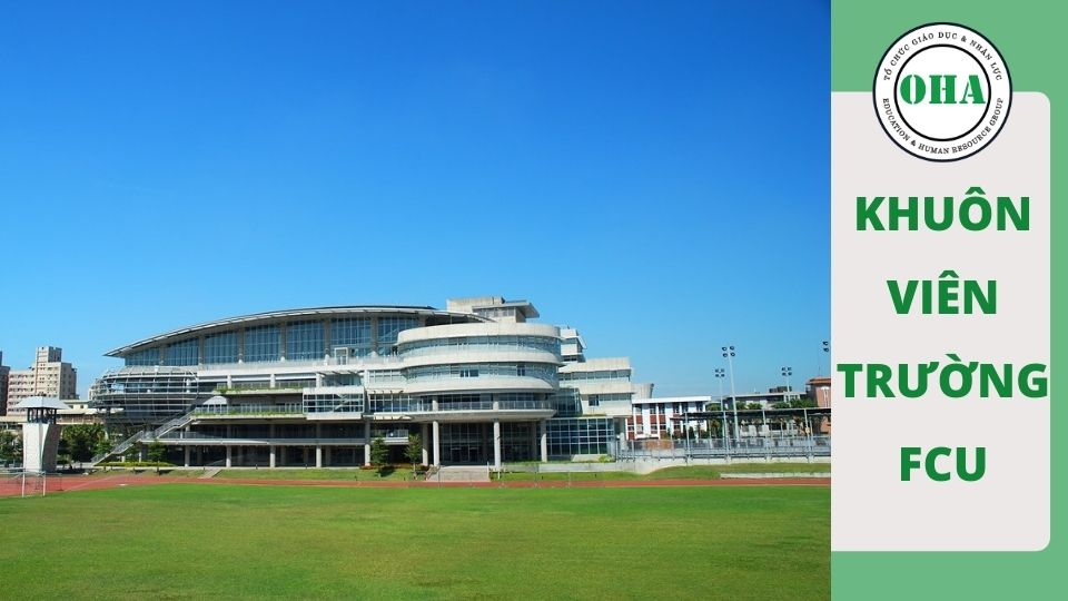 Khuôn viên trường đại học Phùng Giáp