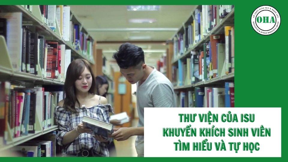 Thư viên tại trường Đại học Nghĩa Thủ