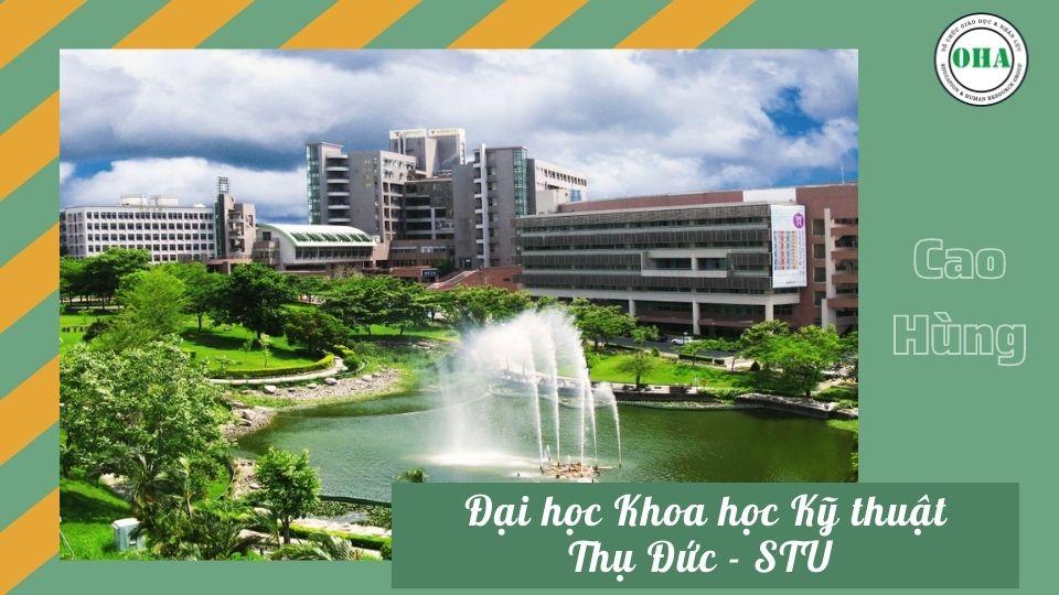 Du học Đài Loan ngành Công nghệ thông tin cùng Đại học KHKT Thụ Đức - STU
