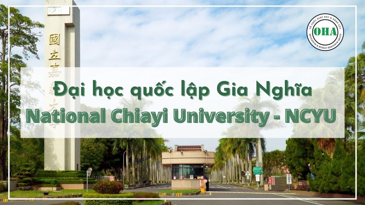 Đại học Quốc Lập Gia Nghĩa NCYU