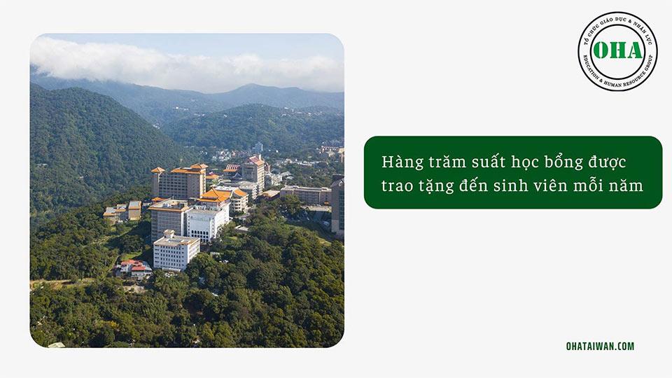 Chính sách học bổng dành cho du học Đài Loan hệ ngôn ngữ bằng tiếng Hoa