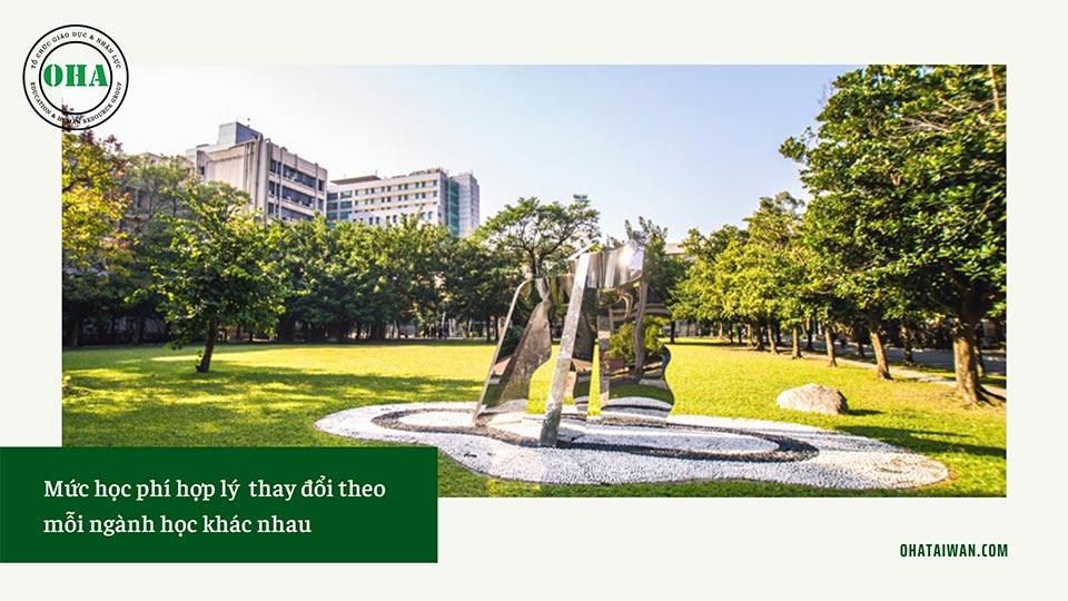 Chi phí du học Đài Loan tại Taiwan Tech - NTUST vô cùng hợp lý