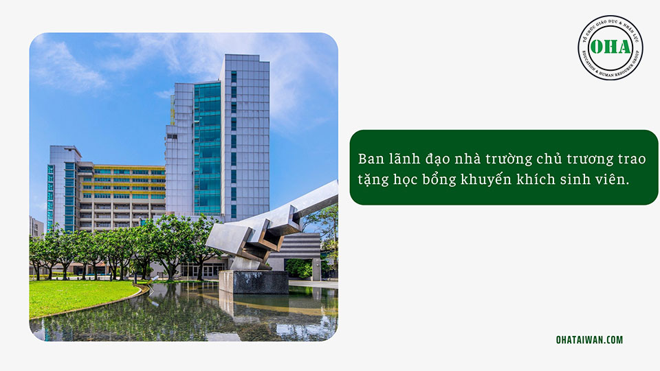 Chính sách học bổng NTUST hấp dẫn dành cho sinh viên du học Đài Loan