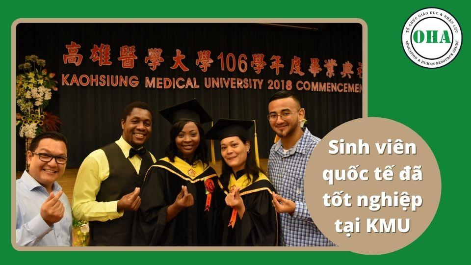 Một số khóa tốt nghiệp tại Đại học Y Khoa Cao Hùng KMU