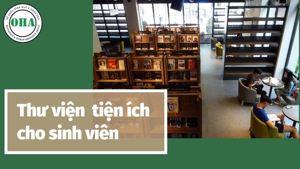 Thư viện nơi học sinh tài kiếm nguồn tài liệu tham khảo tốt nhất - NTUT Taiwan