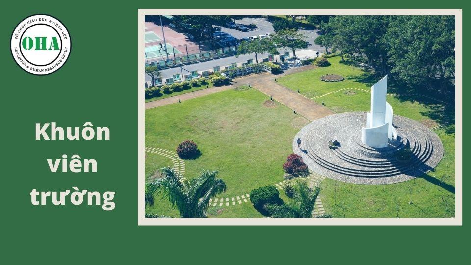 Khuôn viên trường Đại học Đạm Giang