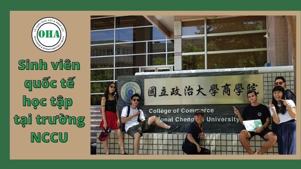 Chương trình học bổng du học Đài Loan được tài trợ bởi trường Đại học Quốc lập Chính trị Đài Loan