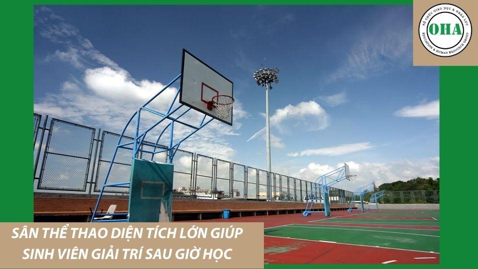 Đại học Sư phạm Quốc lập Chương Hóa - NCUE Trang bị sân vận động giúp sinh viên rèn luyện thể chất